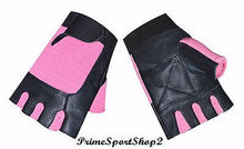 REAL LEATHER & 4WAY FITNESS TRAINING CYCLING WHEELCHAIR GLOVE'S