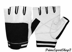 WEIGHT LIFTING LEATHER PADDED TRAINING BODY BUILDING GYM ALL SPORTS GLOVES