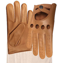 REAL SOFT NAPPA LEATHER MEN'S DRIVING STYLISH FASHION GLOVES D-511