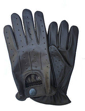 TOP QUALITY REAL SOFT LEATHER MEN'S UNLINED FASHION DRIVING GLOVES D-7012