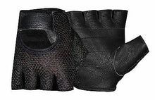 Weight Lifting Training Cycle Wheelchair Sports Leather Mesh Padded Gloves 1055