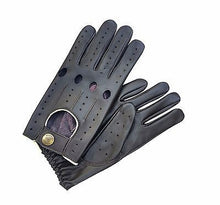 Top Quality Men's Genuine Nappa Soft Leather Classic Fashion Driving Gloves