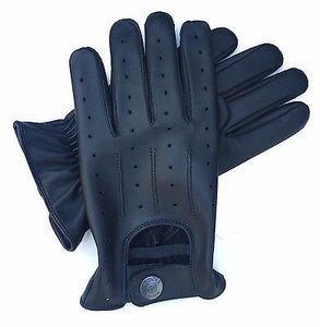 TOP QUALITY REAL SOFT LEATHER MEN'S DRIVING STYLISH FASHION GLOVES  D-7012