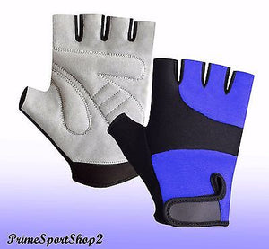 WEIGHT LIFTING  PADDED FITNESS GYM TRAINING CYCLING WHEELCHAIR SPORTS GLOVES
