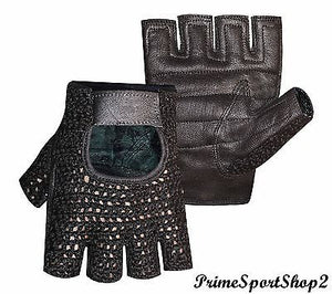 TOP QUALITY MESH NET WEIGHT LIFTING PADDED GLOVE'S TRAINING CYCLING GYM