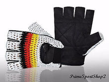 WEIGHT LIFTING PADDED MESH GLOVE'S FITNESS CYCLING GYM SPORTS WHEEL CHAIR