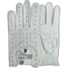 TOP QUALITY REAL SOFT LEATHER MEN'S WITHOUT LINING DRIVING GLOVES