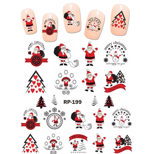 Christmas Nail Art Decals