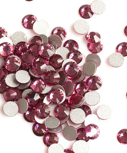 Rose Crystals available In various sizes - Nirvana Nail and Beauty Supplies