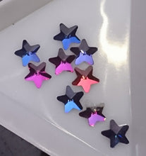 Star Shaped rainbow crystals 10 pack - Nirvana Nail and Beauty Supplies