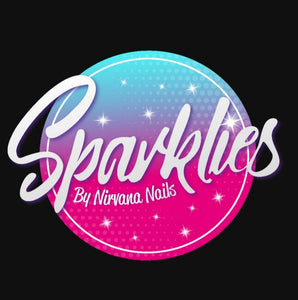 Sparklies Glitter - Pretty Green Eyes (0.08 Fine) - Nirvana Nail and Beauty Supplies