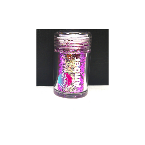 Amber - Sparklies Glitter Shakers (Multi-Cut)