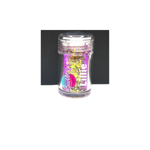 All 12 Sparklies Chameleon Glitters in Shaker Pots (Multi-Cut)