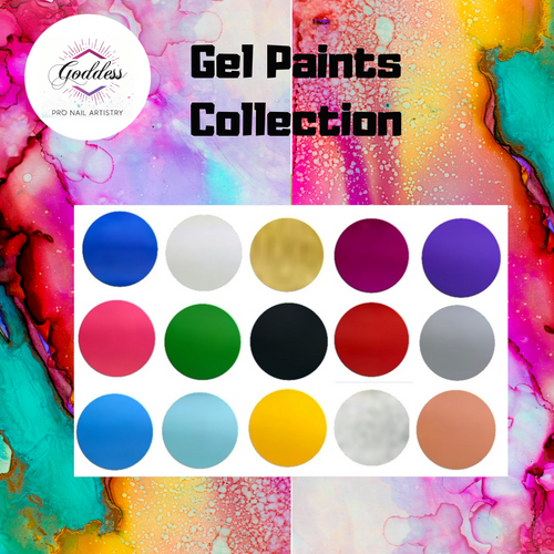 Goddess Gel Paints Collection