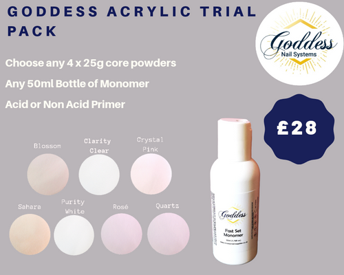 Goddess Acrylic System Trial Pack