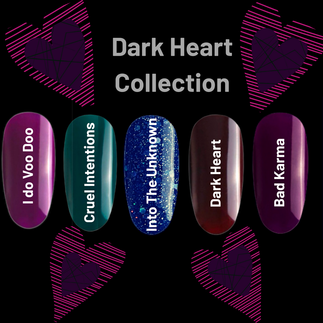 New!! Goddess Gel Polish Dark Heart Collection