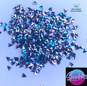Sparklies holo triangles - Nirvana Nail and Beauty Supplies