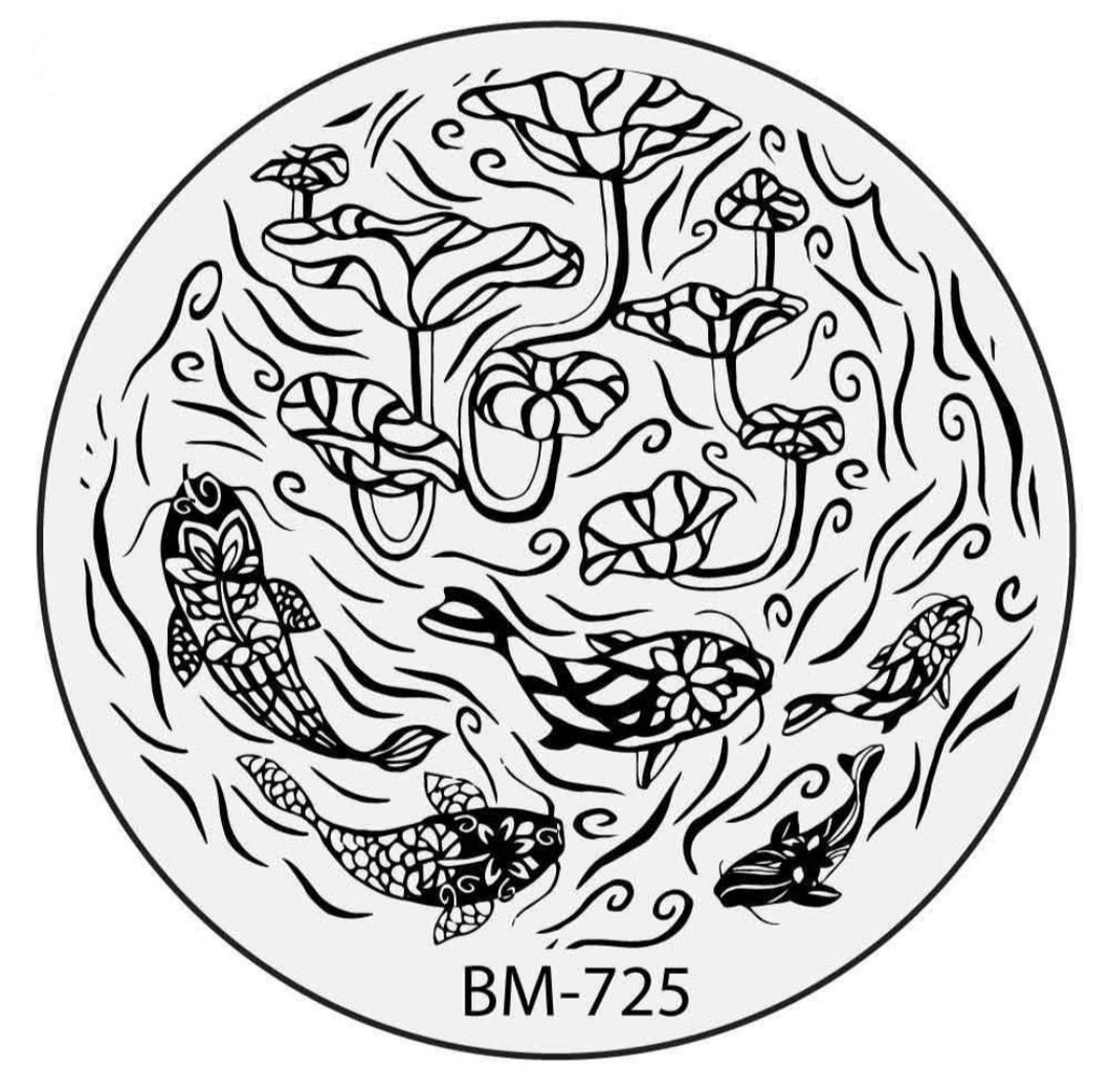 Secret Garden - Koi Pond (BM-725)