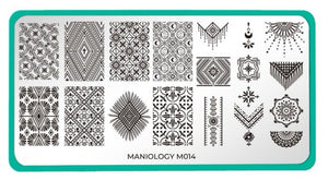 Wild Heart: Best Fringe Forever (m014) - Maniology Nail Stamping Plate