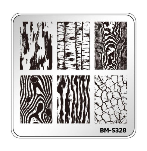 Botanicals: Into the Wild (BM-S328) Stamping Plate