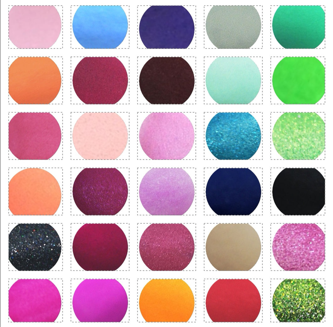 Complete Goddess Coloured Acrylic Powder Collection