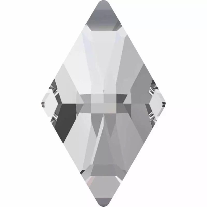 Goddess Clear Rhombus Crystals 5 x 8 mm 10 Pack