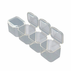 Crystal / Nail Art Storage Box - 28 Individual Compartments