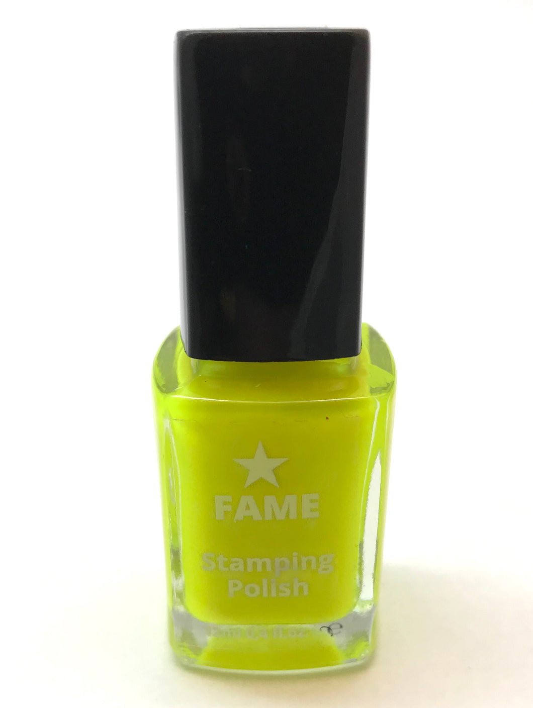Fame Stamping Polish - Neon Yellow - Nirvana Nail and Beauty Supplies
