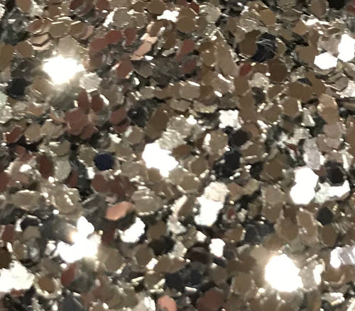Sparklies Glitter - Chunky Silver - 0.04 - Nirvana Nail and Beauty Supplies