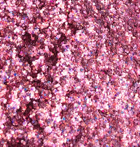 Sparklies Glitter - Holo Pink - Chunky 0.04 - Nirvana Nail and Beauty Supplies