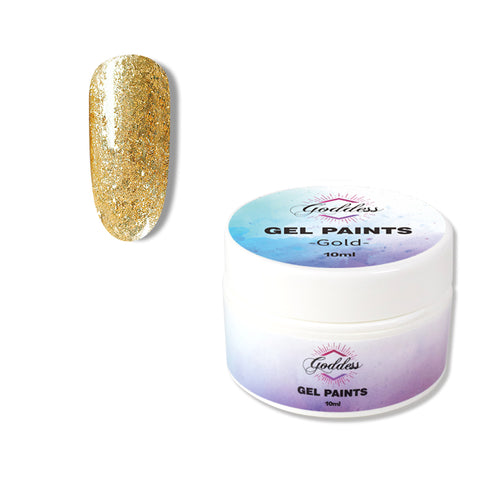 Goddess Gold Gel Paint 10mls
