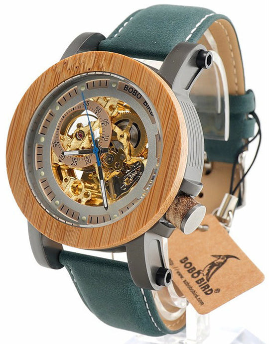 Automatic Wooden Watches