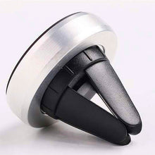 Car Phone Holder Strong Magnetic Air Vent Car Mount Aluminum Stand Universal For Mobile Phone iPhone 6 ZTE 360 Degree Rotate
