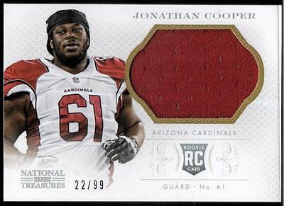JC 2013 Panini National Treasures Rookie Signature Materials Silver #170 #22/99