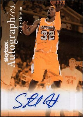 ET 	2011-12 Fleer Retro Autographics 1999-00 #SH Scotty Hopson