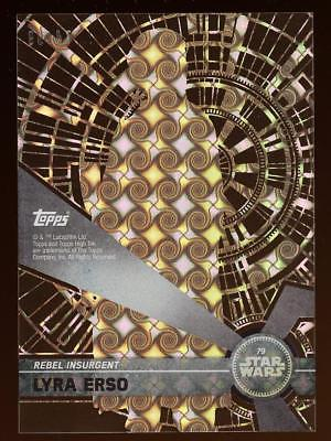 Image of 2017 Topps Star Wars High Tek Tidal Diffractors #79 Lyra Erso 74/99