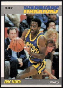 1987-88 Fleer #39 Sleepy Floyd