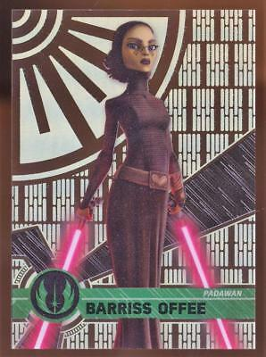 Image of 2017 Topps Star Wars High Tek BARRRISS OFFEE #11 PATTERN 4 FORM 1