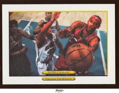 Image of 2006-07 Topps Turkey Red White #251 LeBron James CAVALIERS