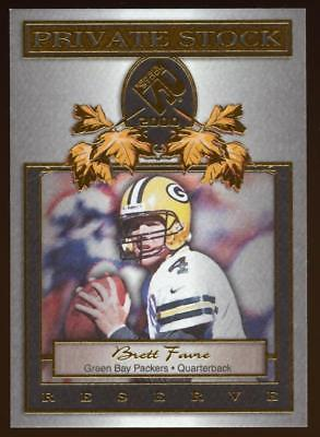 Image of 2000 Private Stock Reserve #8 Brett Favre PACKERS HOF