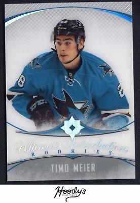 VM) 2016-17 Ultimate Collection #77 Timo Meier Rookies RC SHARKS