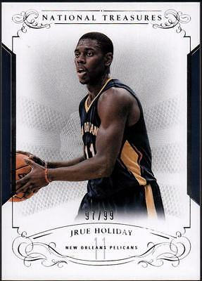 JC 2013-14 Panini National Treasures #85 Jrue Holiday 97/99