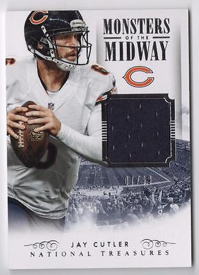 JC 2014 Panini National Treasures Monsters of the Midway Jay Cutler Jersey 07/99