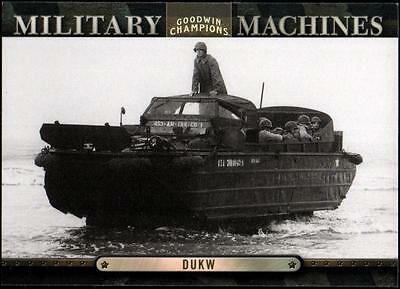 ET 	2012 Upper Deck Goodwin Champions Military Machines #MM5 Dukw