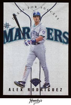 Image of 1997 Leaf Dress for Success #11 Alex Rodriguez 0525/3500 MARINERS