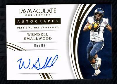 VM) 2016 Immaculate Collection Collegiate #69 Wendell Smallwood AUTO 95/99 RC