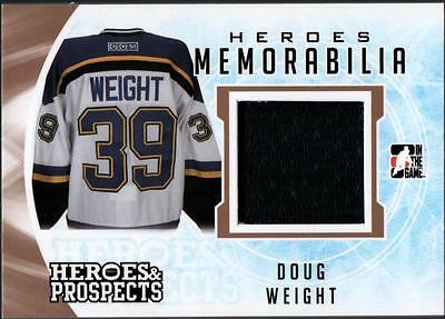 ET)  2016-17 ITG Heroes and Prospects Heroes #HM15 Doug Weight JERSEY