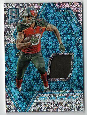 Image of ET 2016 Panini Spectra Sunday Spectacle Jersey Neon Blue Mike Evans 09/99