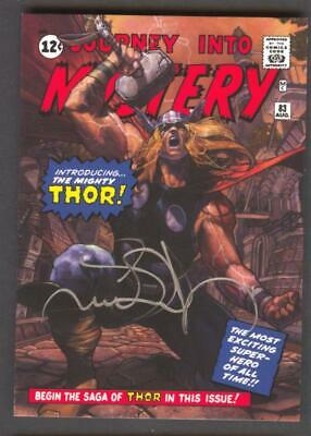 2018 MARVEL MASTERPIECES SIMONE BIANCHI AUTO AUTOGRAPH THOR WHAT IF #WI-84 #9/10