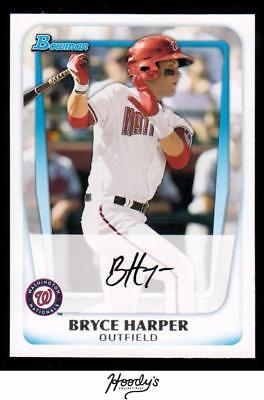 2011 Bowman Prospects #BP1A Bryce Harper NATIONALS RC